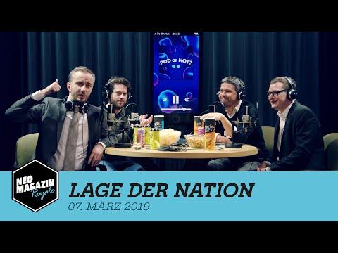 Lage der Nation zu Gast im Neo Magazin Royale mit Jan Böhmermann – ZDFneo