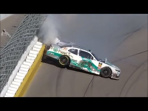 2019 NXS Boyd Gaming 300 Multi-Car Crash Call by PRN