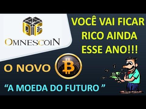 """VOCÊ VAI FICAR RICO AINDA ESSE ANO!!! O NOVO BITCOIN """"OmnesCoin"""" A MOEDA DO FUTURO"""