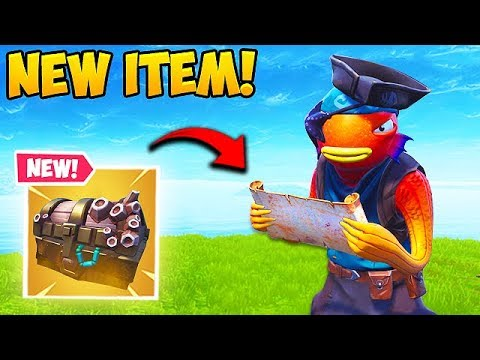 *NEW* TREASURE MAP IS INSANE! – Fortnite Funny Fails and WTF Moments! #489