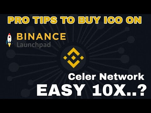 Pro Tips To Buy Binance Launchpad ICOs – ft. Celer.network ICO