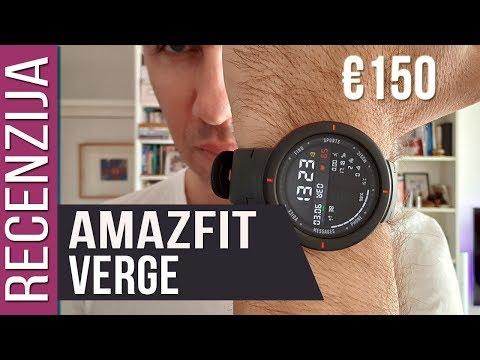 Amazfit Verge sportski smartwatch za €150 [Recenzija]
