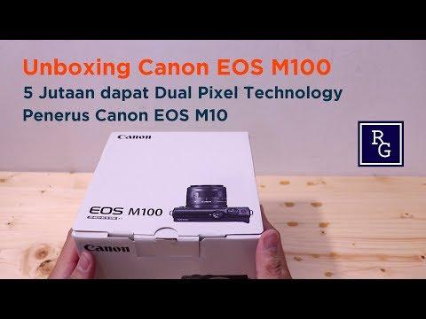 Unboxing Kamera Canon EOS M100 – Penerus Canon EOS M10