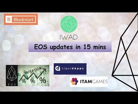 EOS updates in 15 mins – news, views and debates about EOS token price