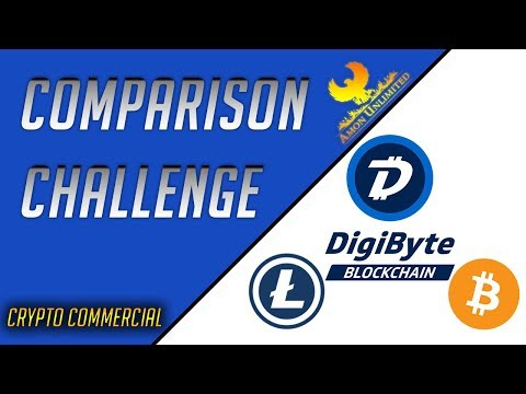 DigiByte Comparision Challenge – DigiByte Commercial (Litecoin and Bitcoin)