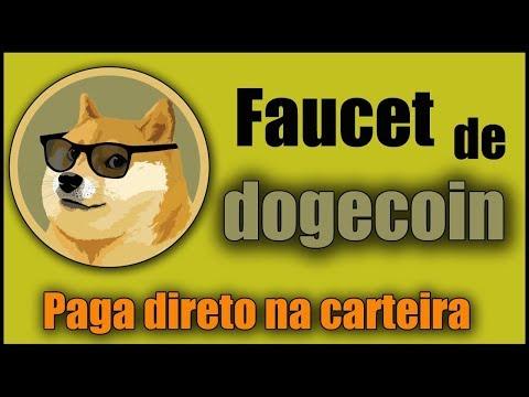 FAUCET DOGECOIN PRA GANHAR 6 DOGECOINS EM 13 MINUTOS DIRETO NA CARTEIRA DA FAUCETHUB