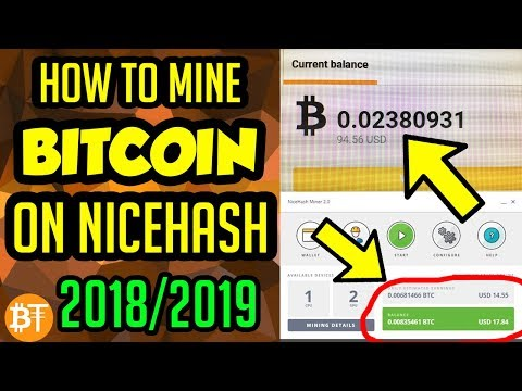 *SIMPLE GUIDE* How to mine Bitcoin (BTC) on Nicehash in 2019
