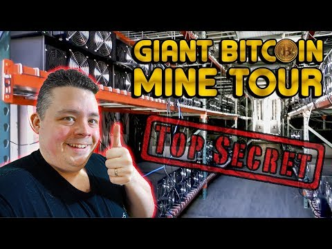 Giant Bitcoin Farm Tour In North America Finally Declassified…