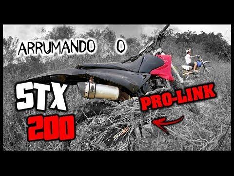 ARRUMANDO O PRO-LINK DA STX 200 – TGS NA TRILHA