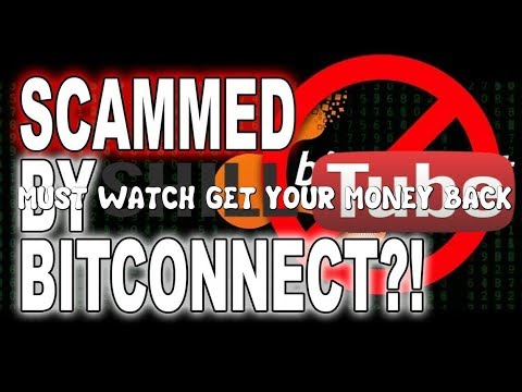 Did You Get #Scammed By #BITCONNECT & YouTube #Shills? WATCH THIS VIDEO