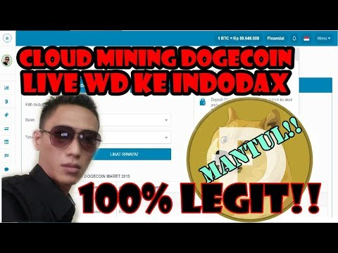 Kerja Online Menambang Uang digital DOGECOIN 100% LEGIT
