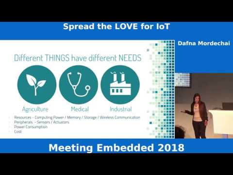 Spread the LOVE for IoT – How I created a full day IoT workshop – Dafna Mordechai