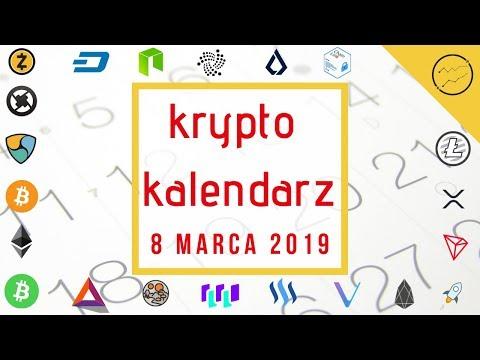 Krypto Kalendarz – 08.03.2019 –  Litecoin, Lisk, Ethereum, Binance Coin, NEO