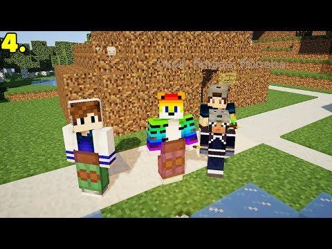 ISSIZ ADA'DAKİ YABANCILAR SALDIRDI! Minecraft Modlu Survival Island  Bölüm:4 w/Sinan Koçali