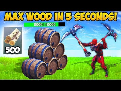 NEW *SUPER FAST* WAY TO GET MATS! – Fortnite Funny Fails and WTF Moments! #491