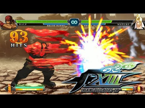 【King of Fighters XIII】 All 38 Characters All Neo Max Super Moves