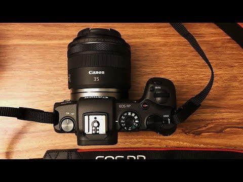 Canon EOS RP Menu & Setting