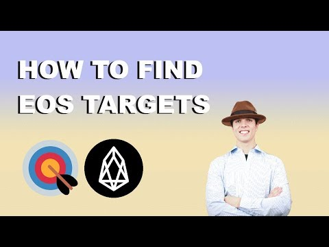 HOW TO SET EOS TARGETS