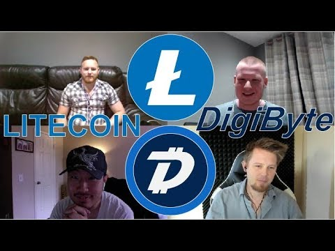 Litecoin & Digibyte Scaling Debate! Experts Explain Lighting Network vs Onchain Scaling! #Podcast 29
