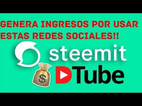 REVIEW DE STEEMIT Y DTUBE RED SOCIAL QUE PAGA!