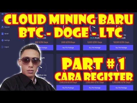 Lagi Viral!! Cloud Mining BTC, DOGE, LTC Part # 1