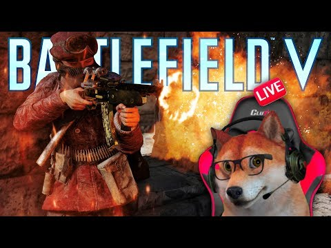 Battlefield 5! Playing with Subs Doge plays 1080p60 PS4 Gameplay LIVE