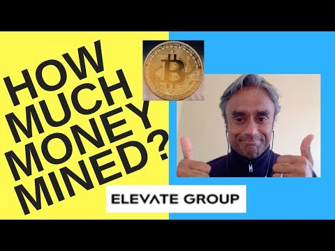 Bitcoin Mining! How Much Money Made in February 2019! + Good News From Elevate Group