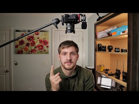 Easy $40 Overhead Rig For The Canon Eos M50