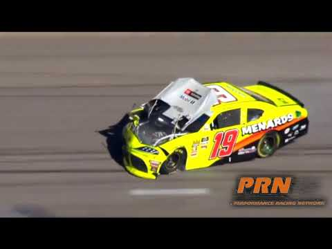 2019 NXS Boyd Gaming 300 Brandon Jones Crash Call by PRN