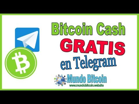 ? Bitcoin Cash【BCH GRATIS EN TELEGRAM】▷ Como Ganar Muchos BCH Gratis ? Prueba de Pago ?