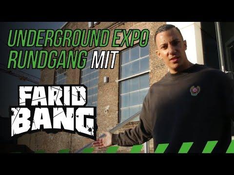 Erster Einblick in die Underground Expo mit Farid Bang