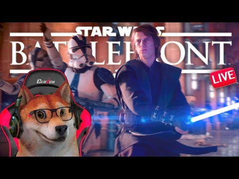 Hello There Battlefront 2! Purple Cards Anakin! Doge plays 1080p60 PS4 Gameplay LIVE