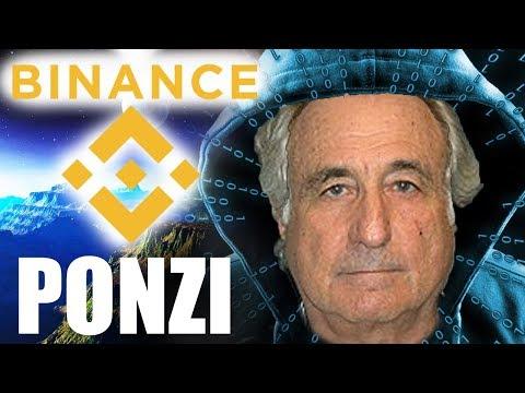 Binance the perpetual money making PONZI machine