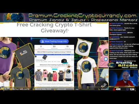 Breaking Bitcoin – Saturday Evening Market Update – Live Cryptocurrency Technical Analysis