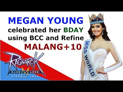 Megan Young birthdays with BCC and refines +10 Malang – Ragnarok M: Eternal Love