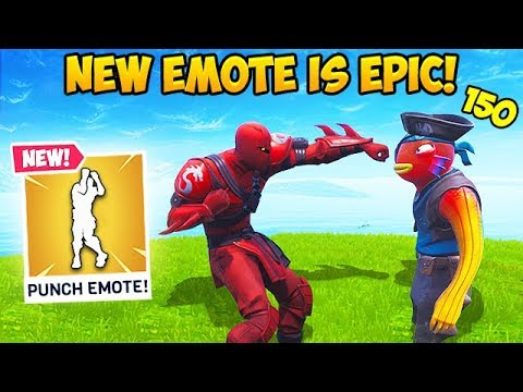 *NEW* BOXING EMOTE IS EPIC! – Fortnite Funny Fails and WTF Moments! #492