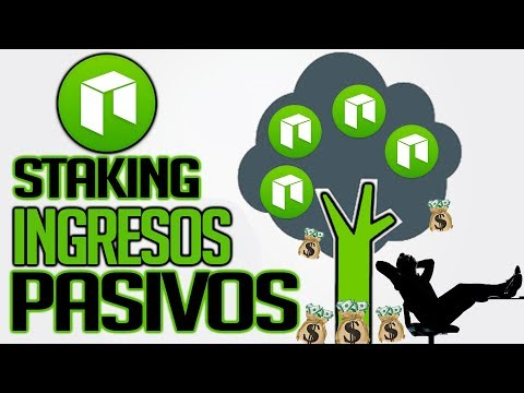 ✅Generar INGRESOS PASIVOS haciendo Staking de la criptomoneda NEO