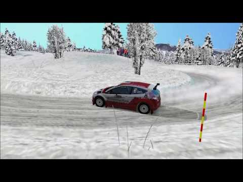 Action and crash – #2 VRC Rally Sweden [vr.TV]
