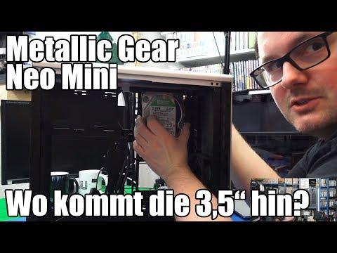 Ein Gehäuse vorgestellt – Metallic Gear Neo Mini (Silber)