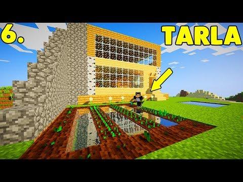 ISSIZ ADA'DA MADENCİLİK! (TARLA YAPTIK)  Minecraft Modlu Survival Island Bölüm: 6 w/Sinan Koçali