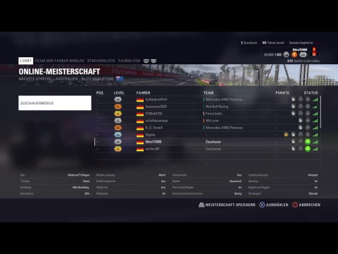 [GER] F1 2018 | VRC Testrennen [PS4] Heat Races