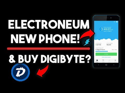 Electroneum Huge News & You Should Buy Digibyte (DGB)?