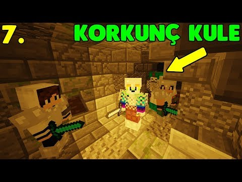 ISSIZ ADA'DAKİ KORKUNÇ KULE! (OYUN ÇÖKTÜ) Minecraft Modlu Survival Island Bölüm: 7 w/Sinan Koçali