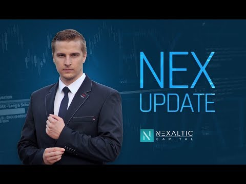 Nex Update #114 BTC, EOS, IOTA, NEO, LTC, XRP, XMR voči USDT + 3 novinky.