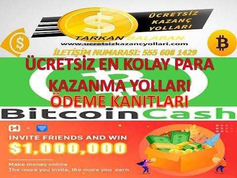 FREE BİTCOİN CASH ÖDEME KANITI HAPO ÖDEME KANITI İNTERNETTEN PARA KAZANMANIN YOLLARI FREE BİTCOİN
