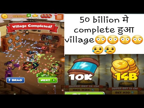 OMG Coinmaster Village 167 Takes 50Billion 😳😳 to Complete