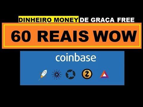 COINBASE DANDO 60 REAIS EM  ZCASH +  BAT  + 0X TOP DEMAIS!!!!