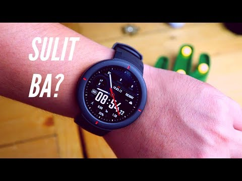 Amazfit Verge – Unboxing and Review (TAGALOG)