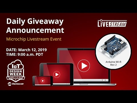 IoT Design Week – Daily Giveaway and Weather Station Demo