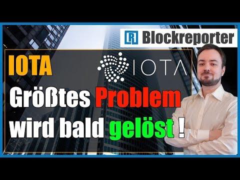 IOTA ohne Koordinator Test Netzwerk znet   Blockreporter deutsch kryptowährung
